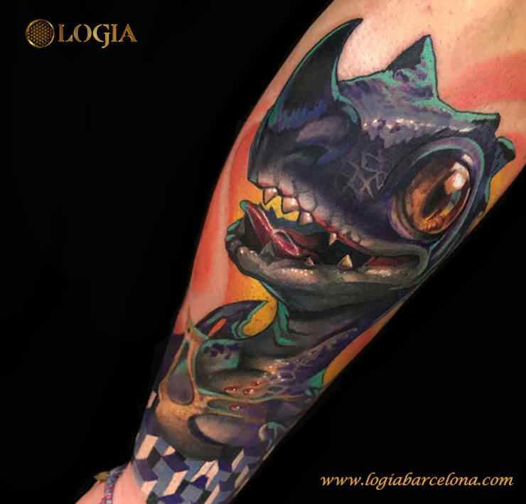 Tatuador Leonardo Castaneda Logia Tattoo