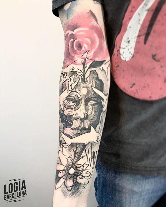 tatuajes raros sketch