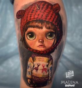 tatuaje_brazo_dolls_03_malena_logia_barcelona