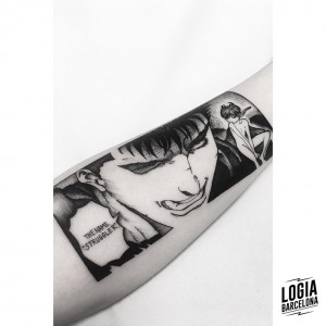 tatuaje-brazo-comic-moskid-logia-barcelona