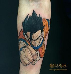 tatuaje-dragonball-brazo-logia-barcelona-Negative