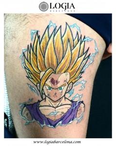 tatuaje-dragonball-pierna-logia-barcelona-Negative