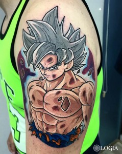 tatuaje-goku-dragonball-logia-barcelona-negative