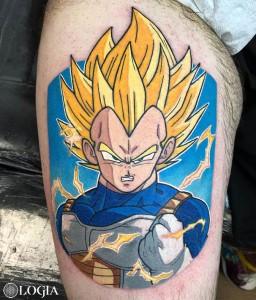 tatuaje-vegeta-dragonball-logia-barcelona-negative