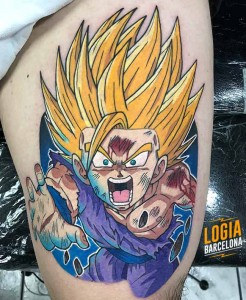 tatuaje_songoten_dragonball_logia_barcelona_negative