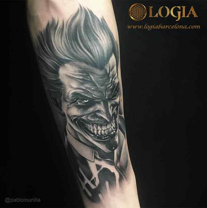Works Pablo Munilla Logia Tattoo - Tattoos-en-los-brazos