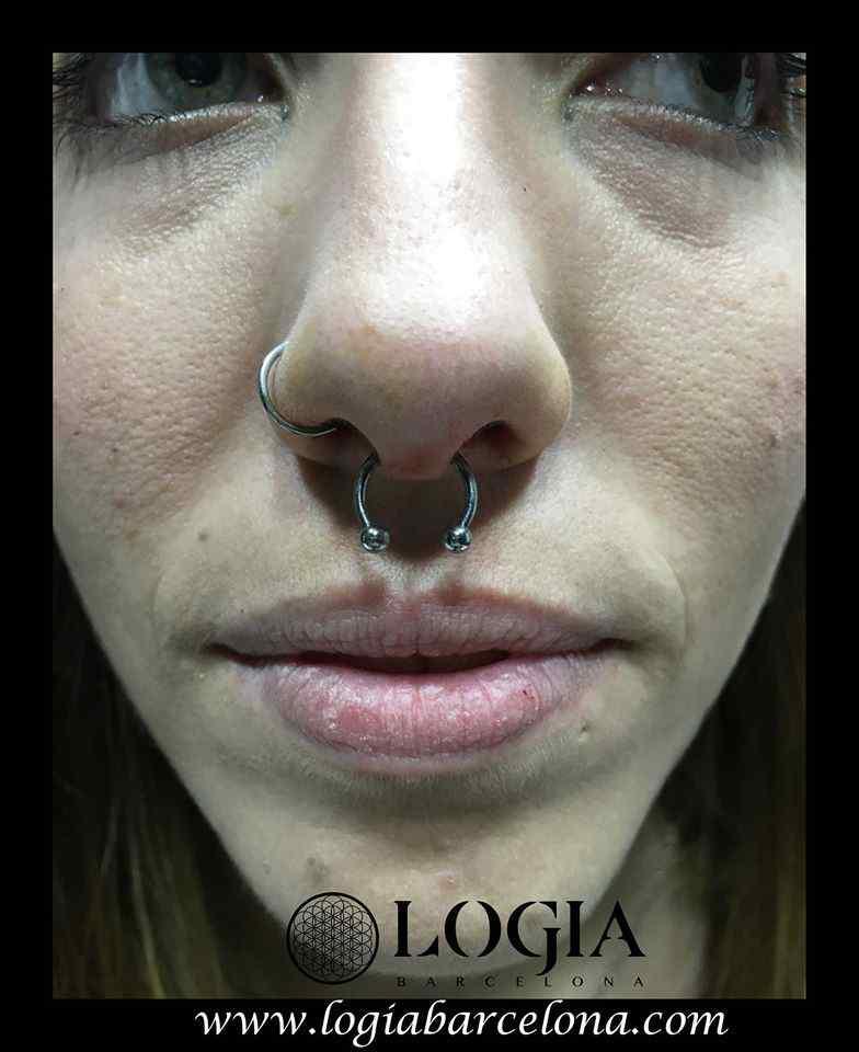 Piercing En La Nariz Logia Tattoo Barcelona