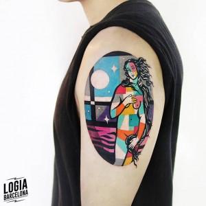 tatuaje_brazo_venus_color_logia_barcelona_polyc