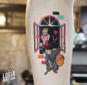 tatuaje_pierna_manga_ventana_color_logia_barcelona_polyc