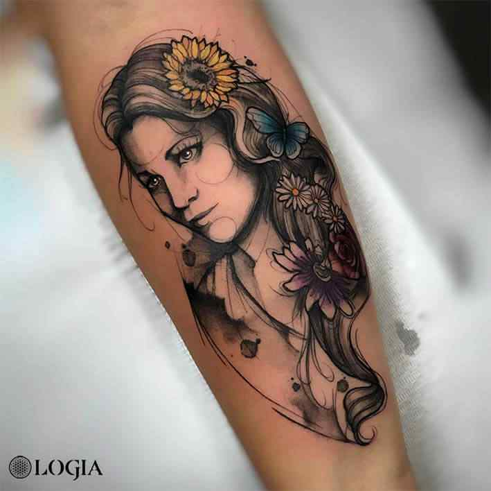 sketch tattoo Logia Barcelona Renata Henriques