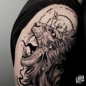 tatuaje_brazo_leon_sulsu_logiabarcelona