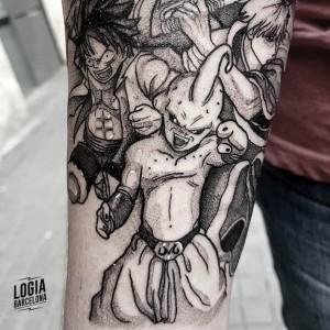 tatuaje_brazo_manga_Logia_Barcelona_Blackwork_Sulsu