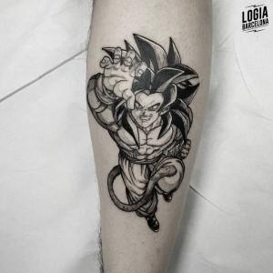 tatuaje_pierna_goku_sulsu_logiabarcelona