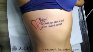 wallk-in tattoo coazon y lettering