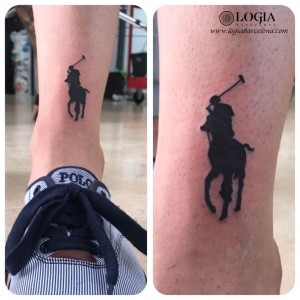 tattoo walk-in caballo polo