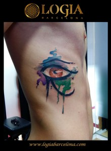 wallk-in tattoo ojo de Horus