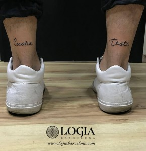 walk-in tattoo lettering