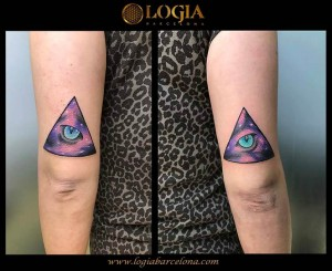 wallk-in tattoo ojos de gato