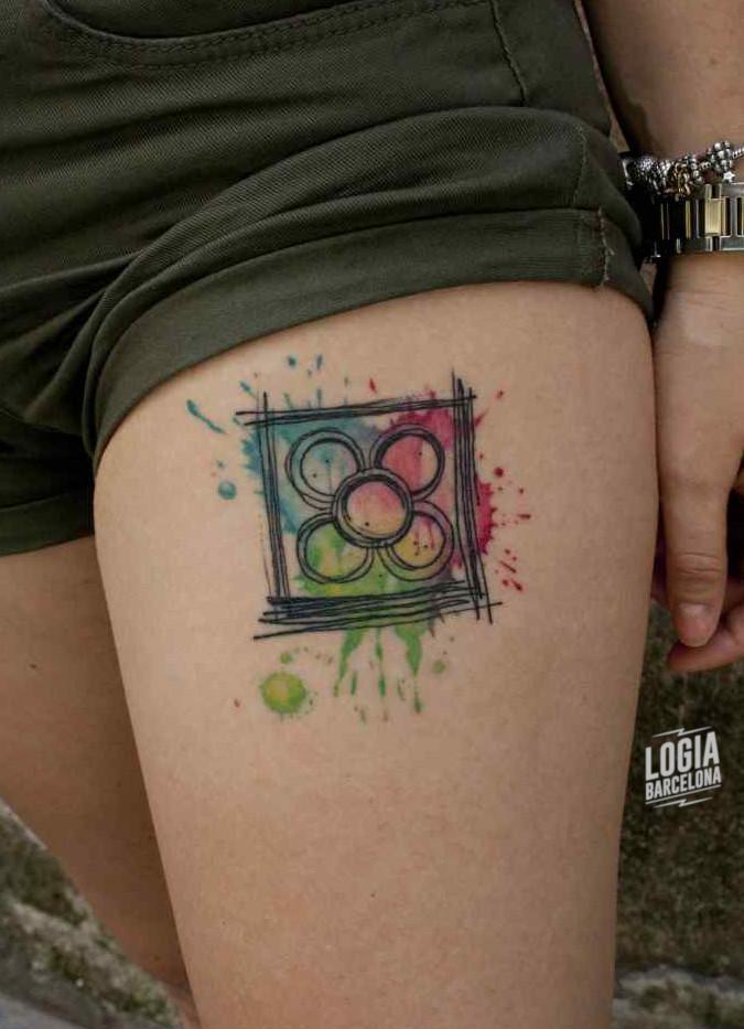 Tatuaje de Barcelona