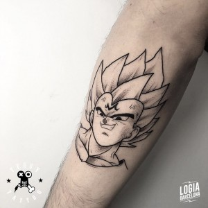 tatuaje_brazo_vegeta_dragonball_terry_logiabarcelona