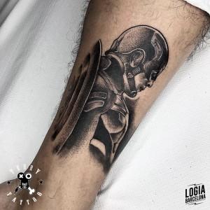 tatuaje_pierna_capitan_america_terry_logiabarcelona