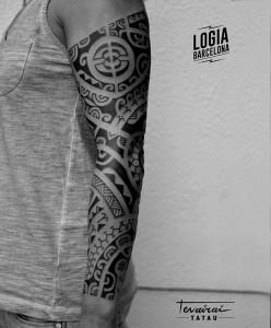 Tatuaje_Maori_Polinesian_Tevairai_Logia_Barcelona_04