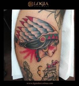 tatuaje-pierna-india-logia-barcelona-tokio