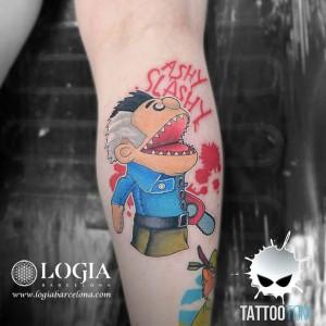 tatuaje-gemelo-puppet-killer-tom-logia-barcelona