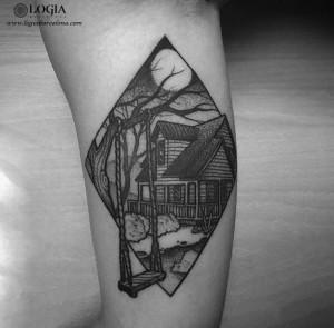 Trabajos Uri Torras Logia Tattoo