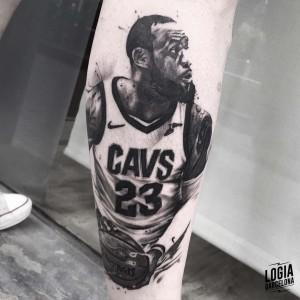tatuaje_pierna_lebron_james_logiabarcelona_javier_jas