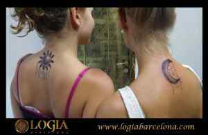 tatuajes para parejas espalda