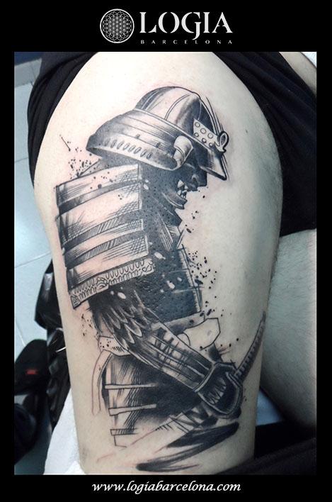 tatuaje-samurai-logia-barcelona-Zoen